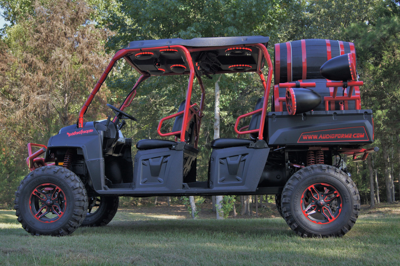 Polaris Ranger Crew 570 (2015 Current) And Ranger Crew 800 (2009 2014) Roof  Top Stereo Systems