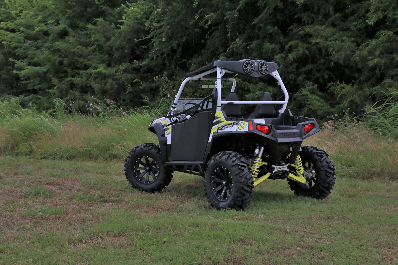 Polaris RZR 800/900 (2008 13) U0026 RZR 570 (2016 Current) Roof Top Stereo  Systems