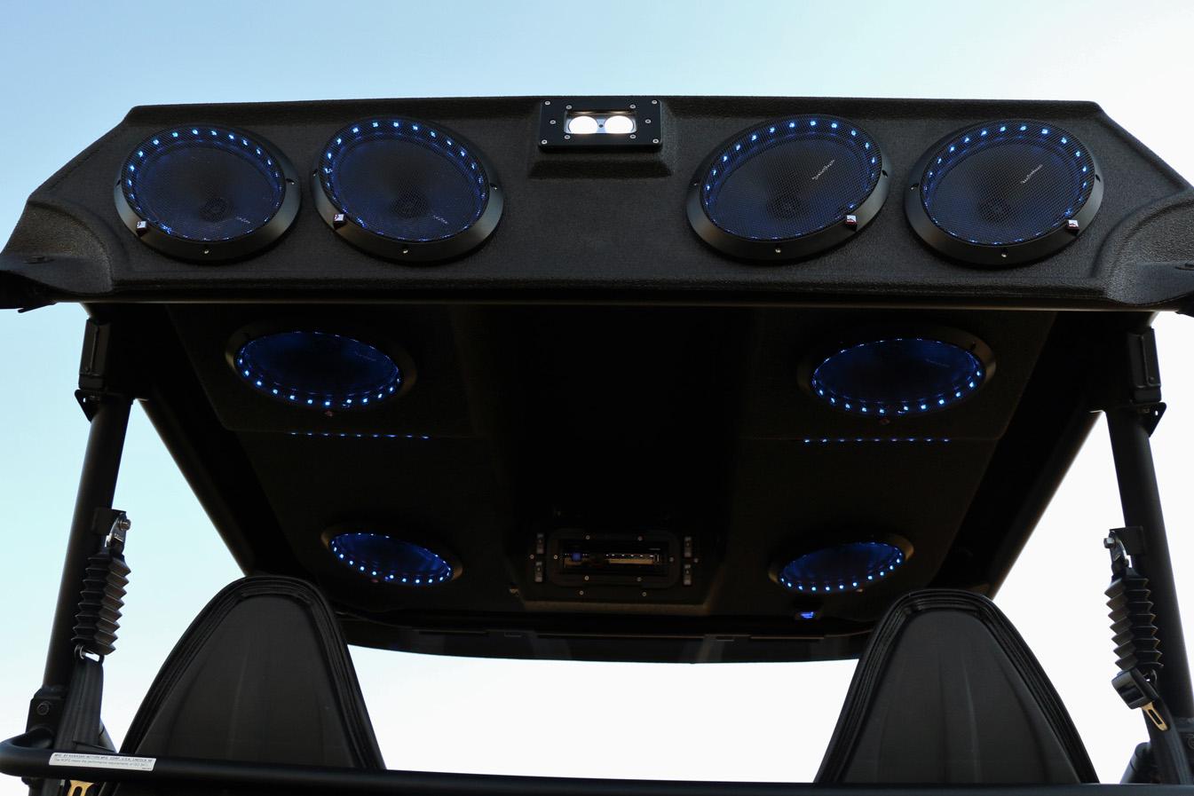 Kawasaki Teryx Stereo Tops Audioformz