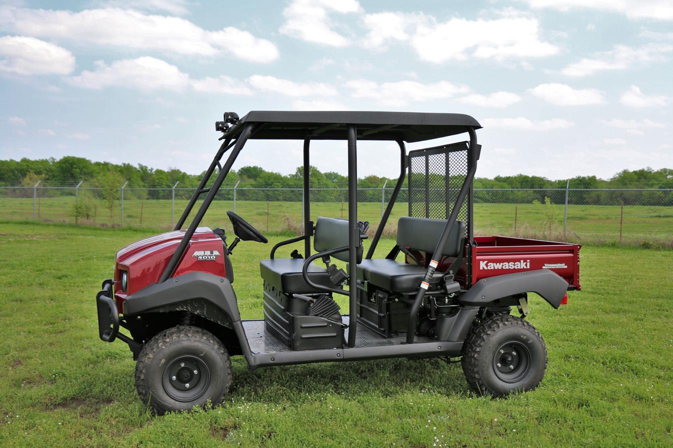 Kawasaki Mule 4010 Trans4x4 Stereo Tops Audioformz