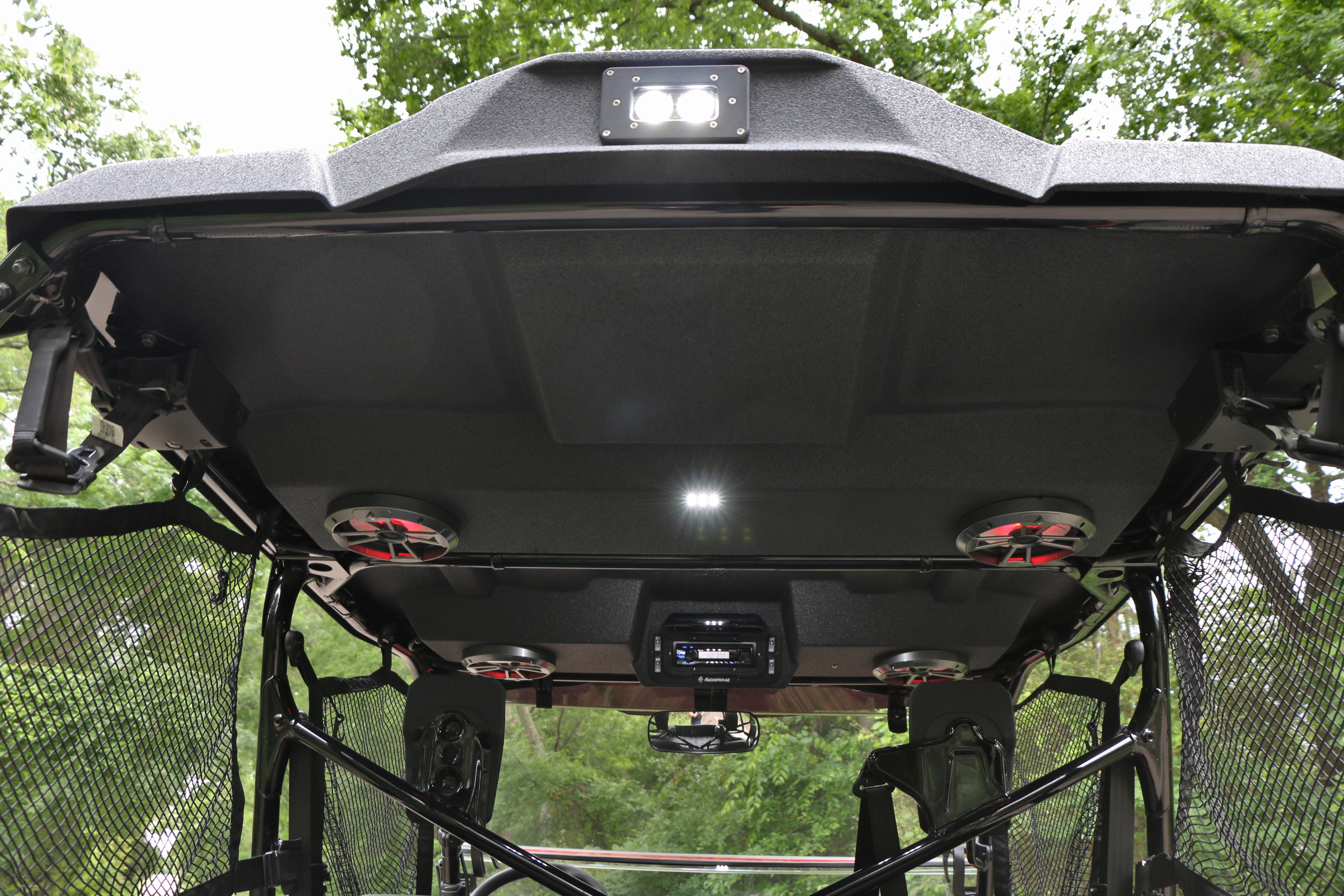 Honda Pioneer 1000 5 Stereo Tops Audioformz