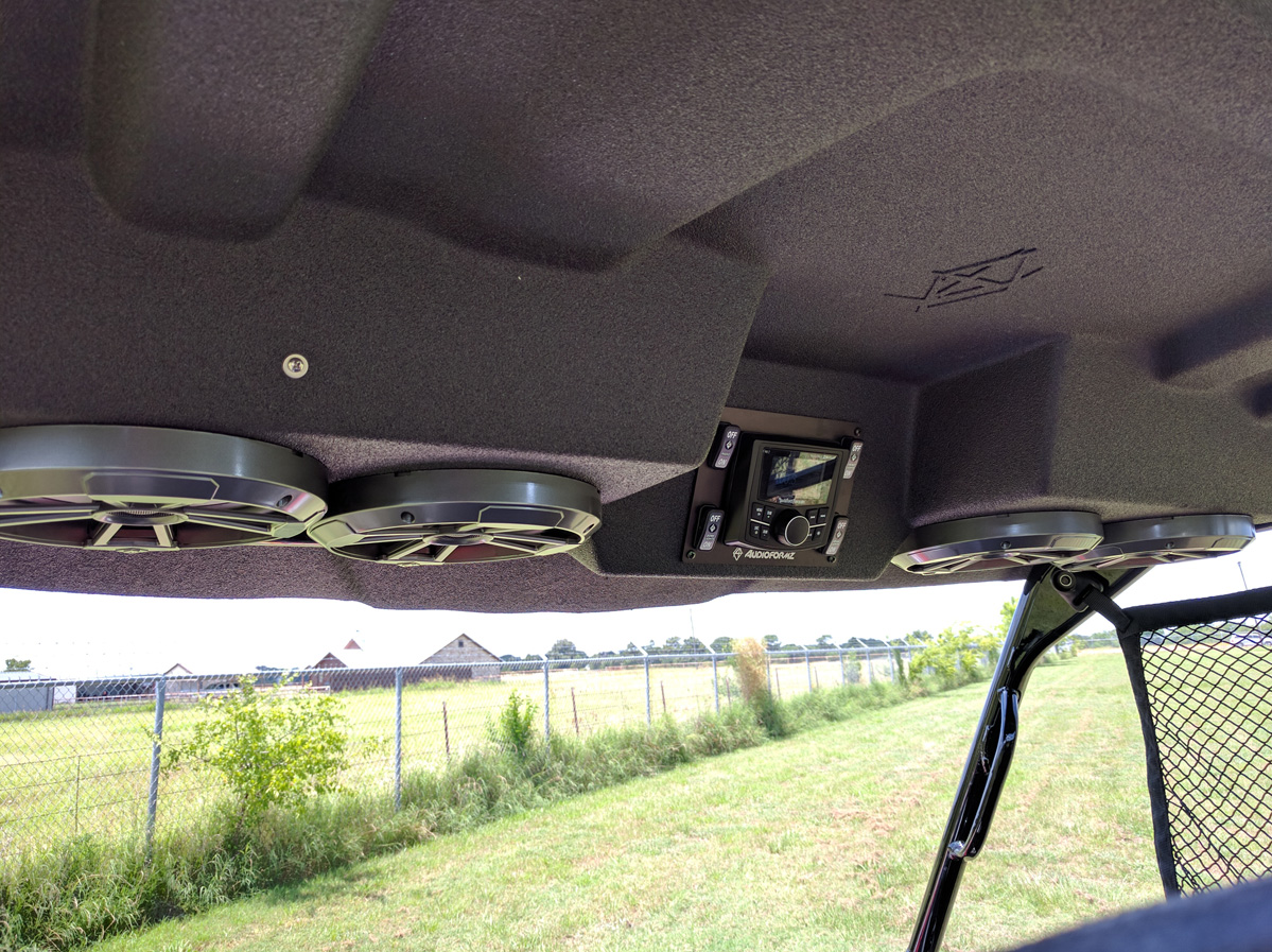 Honda Pioneer 1000 3 Stereo Tops Audioformz