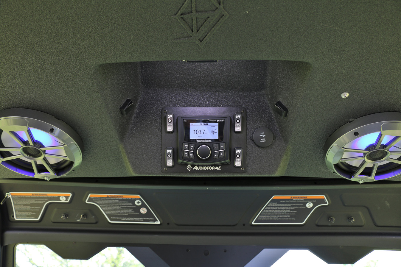 Defender Max Stereo Tops Audioformz